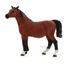 Mojo Fun 387194 Bay Arabian Mare in Foal - Pregnant Model Horse Toy - NIP