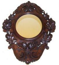 Oak Original Victorian Antique Mirrors