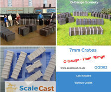 O gauge Model Railway Timber Crates 7mm Scale - OGD02 - 1:43 - NEW RELEASE