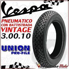 PNEUMATICO COPERTONE GOMMA OMOLOGATO 3.00.10 VESPA 50 SPECIAL ELESTART (V5B4T)