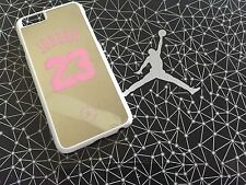 New iPhone 6 Case Pink Jordan NBA Mirror + Free Gift + Free Shipping