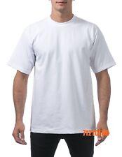 PRO CLUB HEAVYWEIGHT T SHIRTS PLAIN ProClub Short Sleeve Mens Big and Tall M-7XL