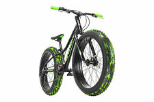 Fatbike 24'' Mountain Bike Kinder Crusher 6217 Schwarz RH 30 cm KS Cycling 152K