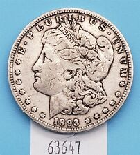 West Point Coins ~ 1893 Morgan Silver $1 Dollar