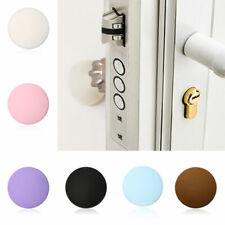 Door Stopper Rubber Handle Crash Pad Cushion Door Stop Wall Protector Doorknob