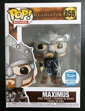 Funko Pop Maximus #859 Gladiator Shop Exclusive *IN STOCK*