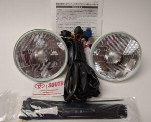 Genuine Toyota OEM 81110-60P70 Koto Halogen Headlight Conversion Kit, Pair, FJ60