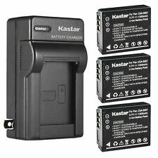 Kastar Battery Wall Charger for Panasonic CGA-S007 & Panasonic LUMIX DMC-TZ4