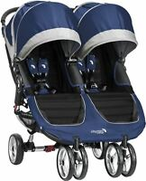 Baby Jogger CITY MINI DOUBLE STROLLER/BUGGY/PUSHCHAIR Baby Travel BN