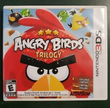 Angry Birds Trilogy (Nintendo 3DS, 2012) ***Tested