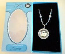 Glückskette Deine Glücksstein-Kette für jeden Monat August-Diamant von Depesche