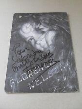 Carte avec autographe de Florence Nelson