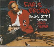 C.D.MUSIC G990  CHRIS BROWN  RUN IT!  SINGLE 4 TRACK  CD