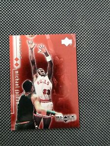 1998/99 Upper Deck Black Diamond Michael Jordan Double Diamond /3000