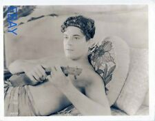 Ramon Novarro barechested The Pagan VINTAGE Photo