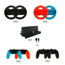 10 in 1 Nintendo Switch 4x Joy-Con Steering Wheel /Grips For Joy-Con Controller