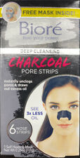 *NEW* Biore Deep Cleansing Charcoal Pore Strips for Nose, 6 Count