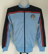 MANCHESTER CITY RETRO TRACK JACKET BY SCORE DRAW SIZE ADULTS MEDIUM BRAND NEW
