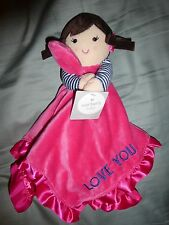 NWT - Carters Plush Baby Doll Security Blanket - Love You