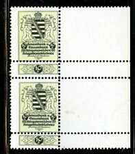 Germany Poster Stamp 1910 Charity Savings Stamps with tab