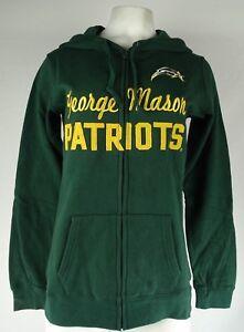 George Mason University Patriots NCAA Women's Full Zip Hoodie