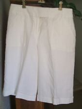 ANNE KLEIN A LINE Womens White Shorts  Size 2  NWTS  MSRP $59