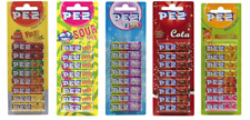 PEZ Fruit, Gazeuze, Aigre , Cola Mangue Bonbon Recharges Pour Distributeur Rétro