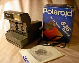 POLAROID 636 CLOSEUP SVETOZOR land Camera Instant Film 600 Made in RUSSIA w BOX