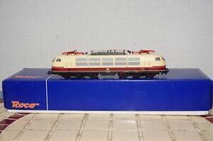 RF37] Roco 62600 - H0 - Electric Locomotive - DB 103 232-5 - Analogue + Dss