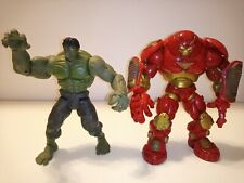 Marvel Legends Hulk & Iron Man Hulkbuster action figure lot Avengers Disney Hero