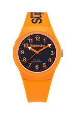 Superdry Urban Reloj De Hombre SYG164O Análogo Silicona Naranja