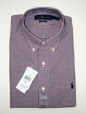Polo Ralph Lauren Hemd Gr.l Classic Fit Red/blue