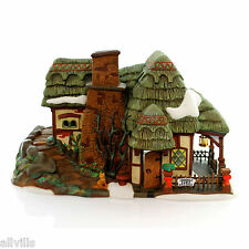 Crooked Fence Cottage #58304 retired Dept 56 Dickens Very English