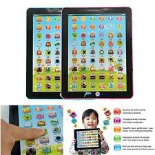 Kid Learning English Tablet Teach Pad Educational Toy Fun Gift For Girls Boys TR