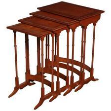 Regency Satinwood Nesting Tables