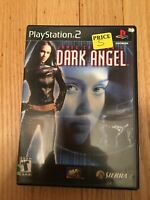 JAMES CAMERON'S DARK ANGEL - PS2 - COMPLETE W/MANUAL - FREE S/H (O)