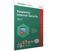 Kaspersky Internet Security 2017 1 PC/MAC User / Devices / 6 months