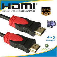 30FT Super Speed HDMI Cable V1.4 1080P Ethernet 3D 4K x 2K Audio Return PS3 DVD