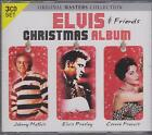ELVIS PRESLEY & FRIENDS JOHNNY MATHIS CONNIE FRANCIS - CHRISTMAS 3 CD's - NEW