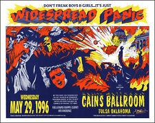 Widespread Panic 1996 Original Tulsa Cain's Ballroom Concert Poster Signed