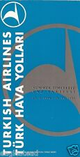 Airline Timetable - Turkish - 27/03/94 - 2nd Edition