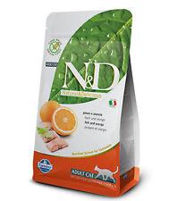 FARMINA N&D GRAIN FREE ADULT GATTO PESCE E ARANCIA