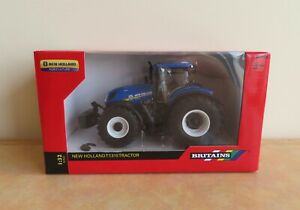 Britains New Holland T7.315 Tractor Diecast Model (Damage) Farm Farming 1:32