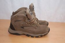 HI-TEC Waterproof Grey Suede Leather/Textile Womens Boots Size UK 6 EU 39