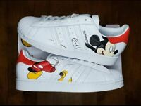 Adidas Originals Disney Mickey Mouse Superstar Shoes FW2901 Men's US Size 9