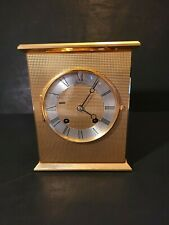 Vintage Chelsea Eagle Series solid brass mantle clock. Very rare. Work and chime