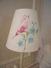Handmade Candle Clip Lampshade Laura Ashley Song Bird fabric