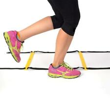 Speed Agility Ladder with Carrying Bag Adjustable 8 Flat Rung 15 Feet