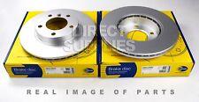 2X FRONT AXLE BRAKE DISCS FOR BMW 3 (E36) 320 328 i (E46) 318 323 318 i ADC1702V