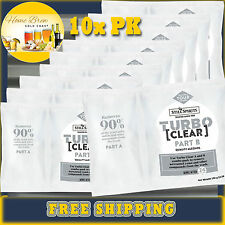 Turbo Clear Still Spirits 10 Pack Home Brew Removes Yeast and Unwanted Compounds